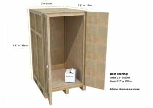 compact self storage unit