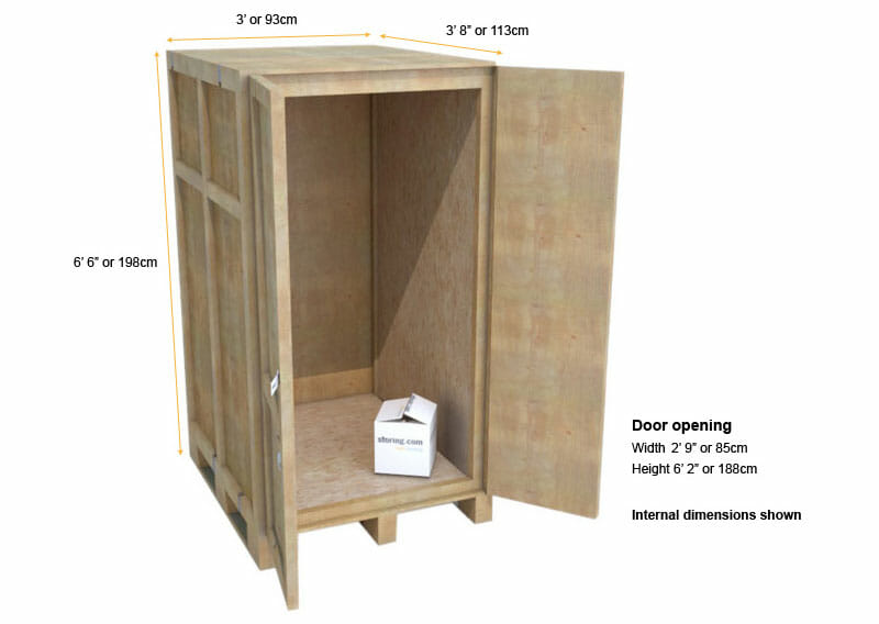 The Small Self Storage Unit 10 Sqft Storing