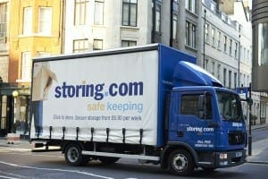 self storage collection London