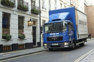 self storage delivery London