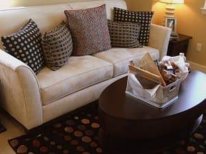 placing sofa in self storage
