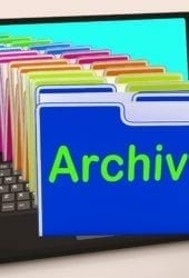 decluttering your business archives