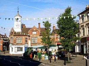 Ampthill Market Place - Moving To Bedfordshire