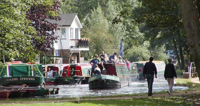 Guildford Canal in Surrey