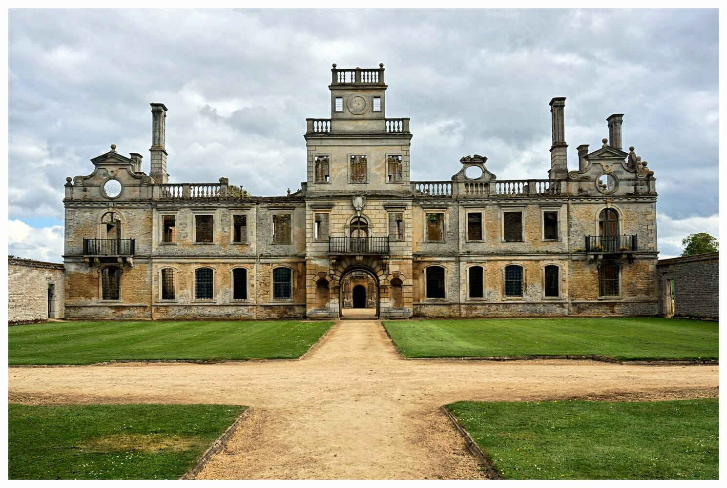 Kirby Hall in Northamptonshire