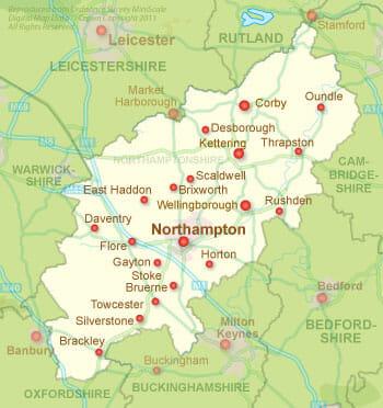 moving to northamptonshire