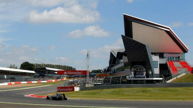 silverstone in northamptonshire