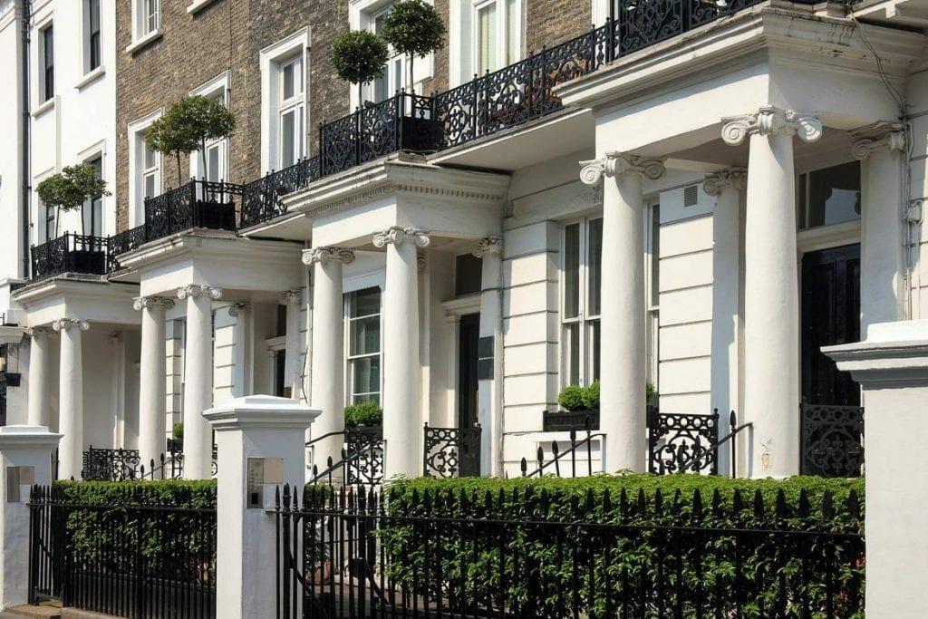 South-kensington-london-apartments-row-houses