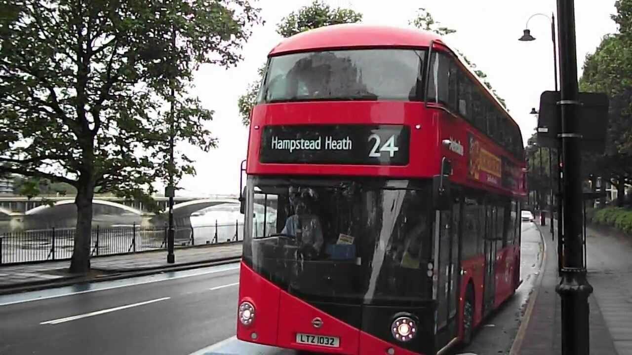 london bus 24 to hampstead heath