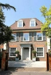 moving to wimbledon - a grand house