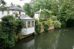 riverside home near London