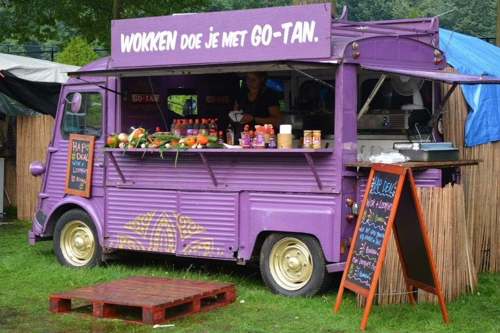 A food truck - a profession that benefits from self storage