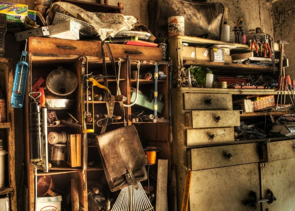 A home full of clutter